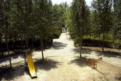 Parque de La Albuera, Interior