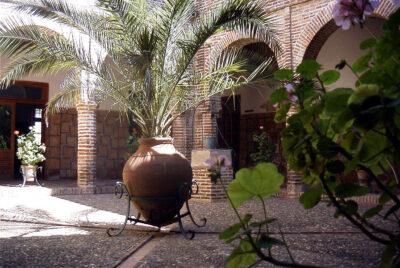 Palacio de Justicia, patio interior