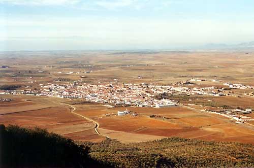 Vista Panorámica de Llerena (Foto Merchán)