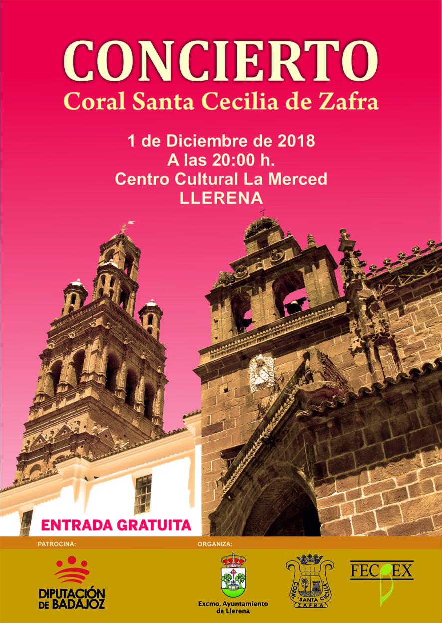 actuación coral de Zafra en Llerena