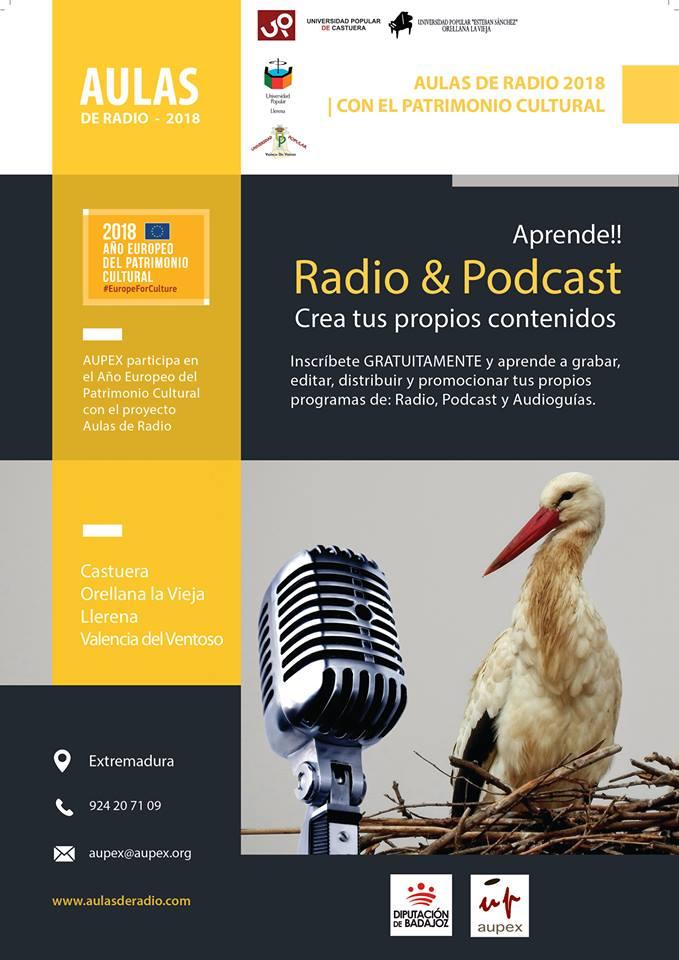 aulas de radio 2018 AUPEX