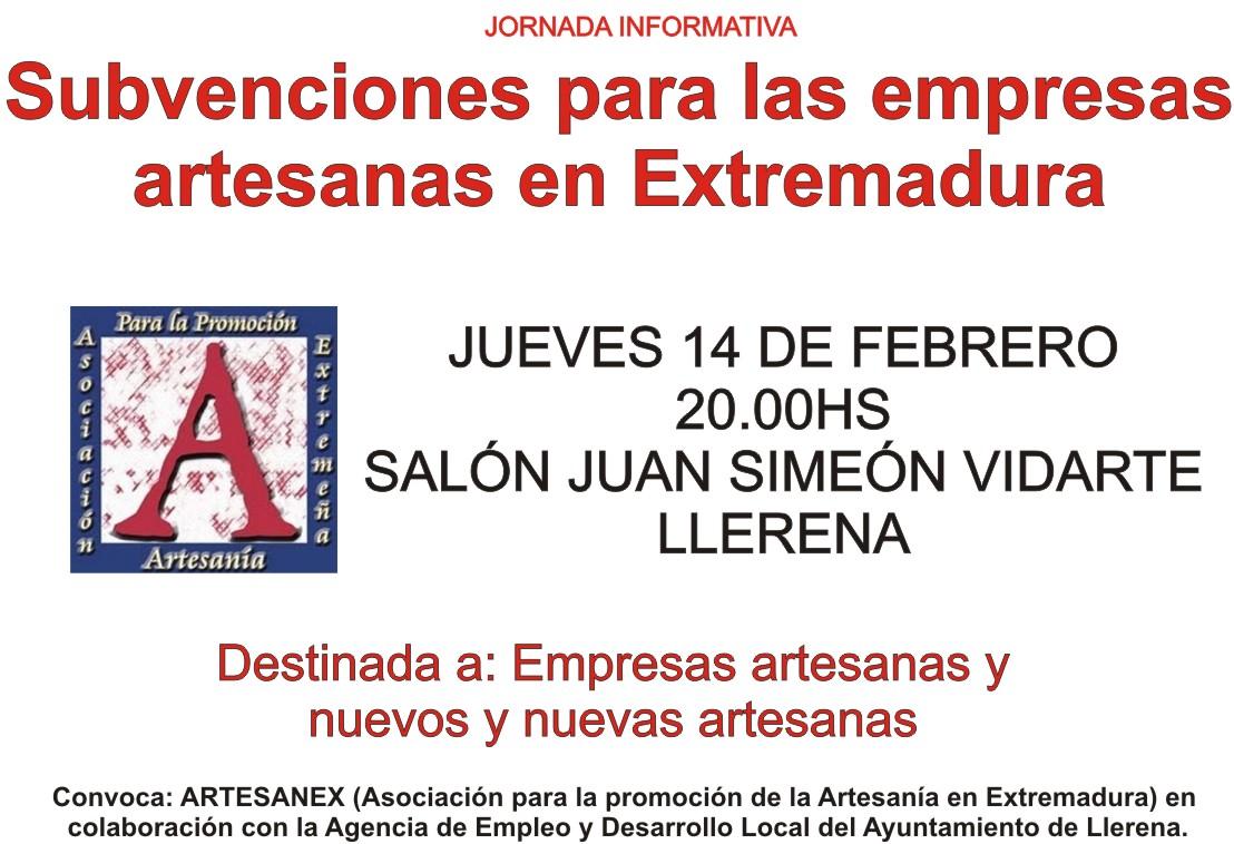 jornada ARTESANEX en Llerena