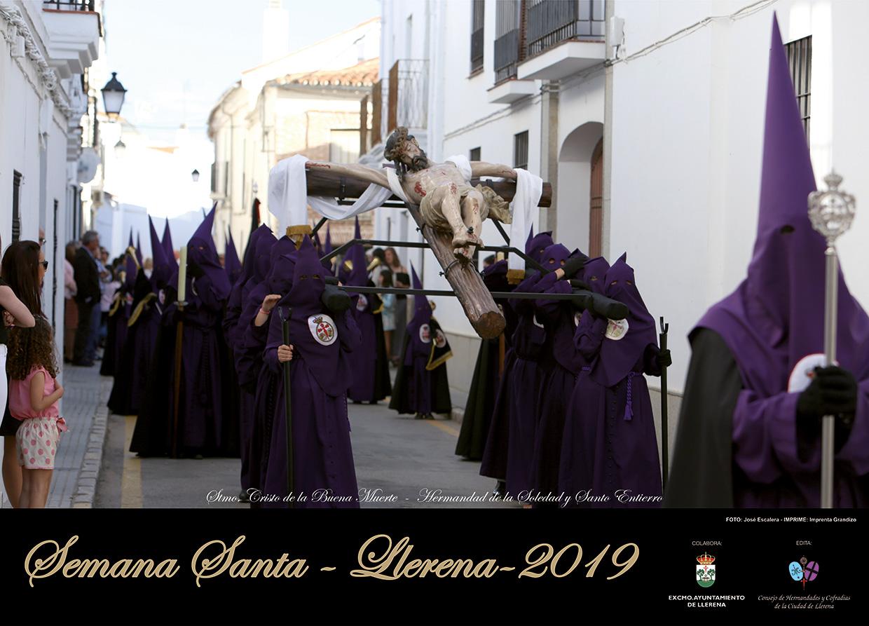 cartel semana santa llerena 2019