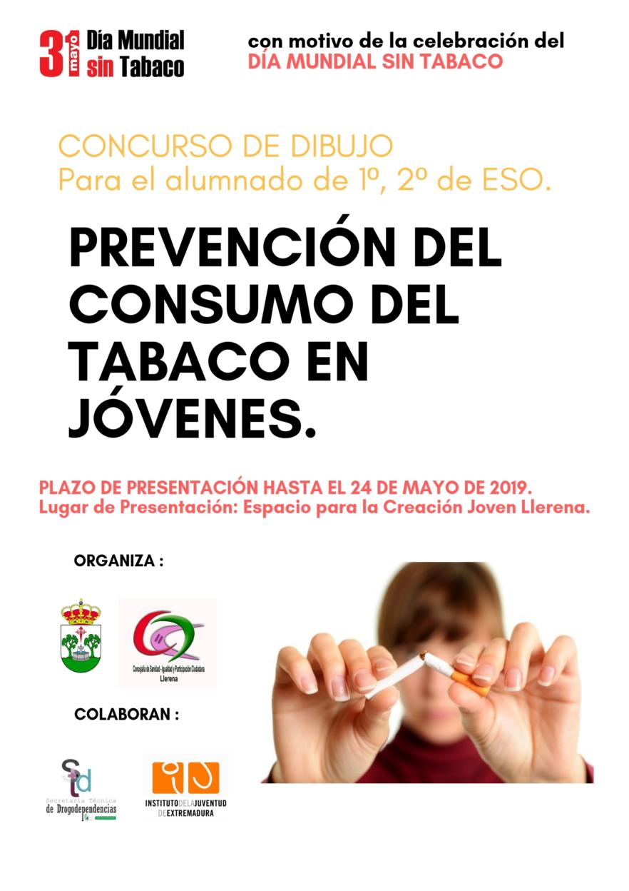 concurso de dibujo día mundial sin tabaco