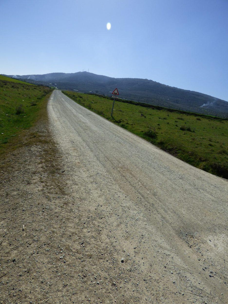 camino sierra de san miguel